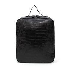 a50bb7bbab35 ... 付き おしゃれ 大人 大容量 フェイクレザー 合皮 通学 通勤 リュックサック 大型 バックパック backpack クロコダイル 2014  秋冬 バッグ バック かばん 鞄