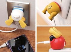 Cute USB Adapters That Look Like the Butts of Disney Characters I want pooh! But your usb chord looks like awkward anatomy.