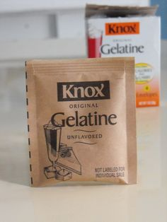 Have you ever tried those Biore blackhead  pore strips from the drugstore? They work great but they can be  expensive. I'm going to show you how to make your own homemade version for just pennies and with one ingredient. Here's what you need: Knox gelatin. You can find it in the baking section of your …