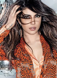 Priyanka Chopra by Mara Desipris for Harper's Bazaar Arabia March 2014