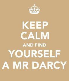 Like a Bridget Jones Mr. Darcy...... Ok, Pride and Prejudice Mr. Darcy too. Who am I kidding just send me Colin Firth.