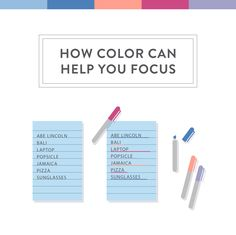 Challenge yourself using Bali Post-it Color Collection to see if color can help make mundane things more memorable.