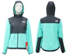 north face jacket,$69,  The North Face Jackets Womens Denali Hoodies tiffany Blue