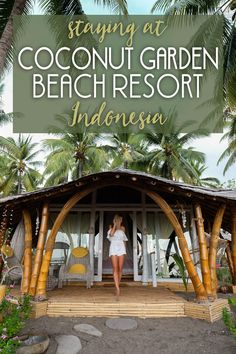 Want to get away from it all? The island of Flores, one of Indonesia's eastern islands, is an undiscovered jewel where time stands still. As a beach lover, I am obsessed with Indonesia. I love finding hidden pieces of paradise where I can unwind and reconnect with nature. Here's my experience staying at the Coconut Garden Beach Resort!