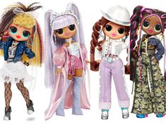 CafeMom.com : L.O.L. Surprise OMG REMIX Dolls : 22 of Walmart's Hottest Holiday Toys This Season Under $50 -- L.O.L. Surprise Dolls are still gong strong as one of the most popular kids toys out there. It may be the combination of the doll and the surprise, but no matter the reason, kids can't get a enough. Luckily, a brand new set of Surprises are coming with the Surprise OMG REMIX Dolls. They're not out yet, but will be for the holidays. Most Popular Kids Toys, Best Kids Toys, Lol Dolls, Cute Dolls, Poupées Our Generation, Hello Kitty Clothes, Little Live Pets, Doll Party, Bratz Doll