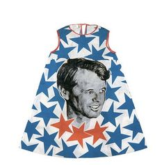 A Bobby Kennedy dress.  Hilariously adorable.