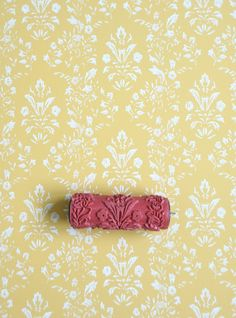 Patterned Paint Roller No.27 from Paint & por patternpaintrollers