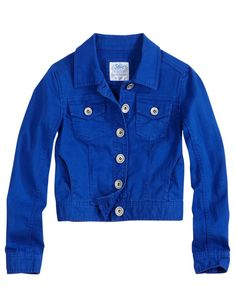 Cute jacket for girls from Justice.