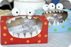 Monster Valentine Box  #valentine