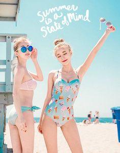 KOODING, a Korean fashion online shopping website, offers Korean women's bikinis for sale. Shop for Korean style womens bikinis online. Korean Fashion Online, Korean Fashion Trends, Asian Fashion, Fashion Photo, Fashion Models, Girl Fashion, Fashion Outfits, Fashion Styles, Trendy Fashion