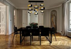 Featured: The new Totem Pendant from Boyd Lighting. #SFDP #southflorida #interiordesign