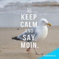 Keep Calm And Say MOIN. / Zur Moin_Seite >>