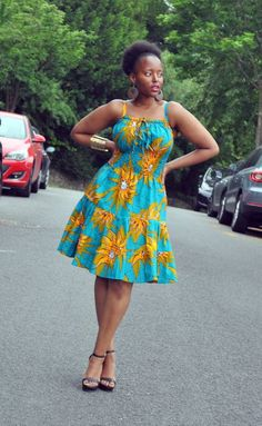 100 Latest Ankara Styles 2019 for beautiful African Ladies Short African Dresses, Latest African Fashion Dresses, African Print Dresses, African Print Fashion, African Wear, African Attire, Short Dresses, Moda Afro, Ladies Dress Design