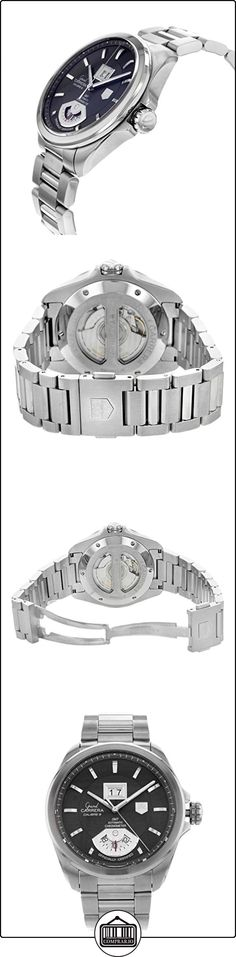 Tag Heuer Grand Carrera WAV511K.BA0901 Stainless Steel Automatic Men's Watch  ✿ Relojes para hombre - (Lujo) ✿