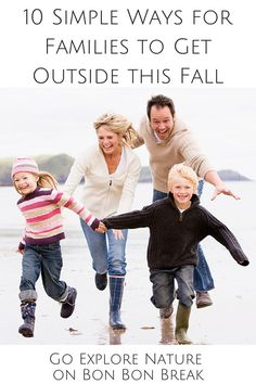 10 Simple Ways for Families to Get Outside this Fall by Go Explore Nature for @bonbonbreak