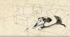 Eric & Peety: Η συγκινητική ιστορία ενός διαβητικού και του σκύλου που του άλλαξε τη ζωή (Βίντεο)