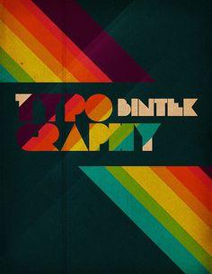 retro typography (by bintek)