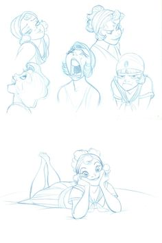 Desenhos do animador Randy Haycock para o estúdio Disney | THECAB - The Concept Art Blog