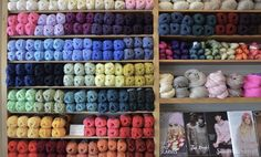 These ladies are so nice and this shop is so rad. Go there and buy some woolly things! : Yarn And Co in Fitzroy, VIC