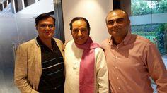 With stalwarts Dr RK Tuli & Ghazal Maestro Satish Babbar