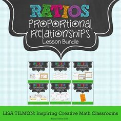 (CCSS: 7.RP.A.2) This Proportional Relationships lesson bundle is designed to help students connect unit rates to proportions by investigating proportional relationships in different representations including table, graph, and algebraic equation.