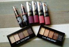 SATURDAY, MARCH 12, 2016 READER SWATCHES: NEW L..A. COLORS & BROADWAY COLORS MATTE LIPSTICKS AND MATTE EYESHADOW PALETTES