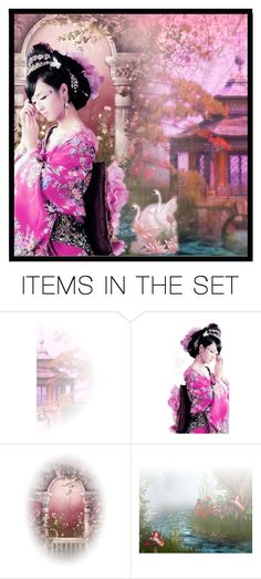 """Beautiful Chinese Women"" by awessomea ❤ liked on Polyvore featuring art"