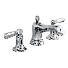 KOHLER Bancroft Polished Chrome Widespread WaterSense Bathroom Faucet (Drain Included) at Lowe's. Inspired by the traditional elegance of early American design, Bancroft brings a classic silhouette to the bathroom. This Bancroft bathroom sink Widespread Bathroom Faucet, Lavatory Faucet, Kohler Faucet, Bathroom Sink Faucets, Bathroom Fixtures, Plumbing Fixtures, Sinks, Bathroom Hardware, Kitchen Fixtures
