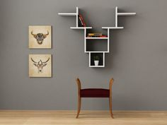 Deer Modern Wall Shelf