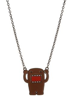 Necklaces | Jewelry | Accessories www.hottopic.com/hottopic/Accessories/Jewelry/Necklaces//Domo+Necklace-161528.jsp#