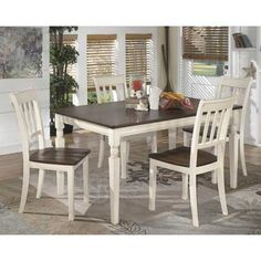 Whitesburg 5 Piece Dining Set By Ashley Furniture Is Now Available At American Warehouse