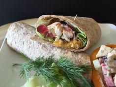 Grilled Chicken & Plumcot Salad | cookeatbehealthy.com
