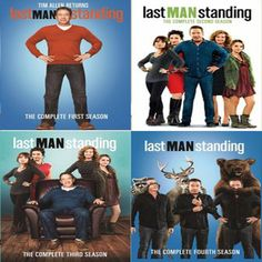 Last Man Standing Seasons 1-4 Set on DVD #homeimprovementandlastmanstanding,