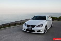 Lexus IS - Vossen CV3R Vossen Wheels, Car Wheels, White Lexus, White Rims, Forged Wheels, Trd, Dream Cars, Gallery, Vehicles