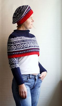 Items similar to Norwegian Red White and Blue Tam - PDF Knitting Pattern on Etsy Men Looks, Put On, Dressmaking, Going Out, Knitting Patterns, Knit Crochet, Red And White, Winter Hats, Trending Outfits