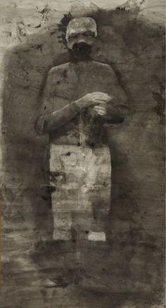 New Blood Art   Dog Man by Samantha Wilson   Buy Original Art Online   Artworks by Emerging Artists for Sale
