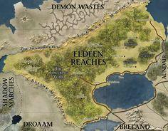 Eldeen Reaches Map