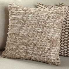 Maroc Rug Natural Square Pillow