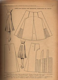 - costurar com amigas - Picasa Web Albums IDEA draw herring bone on actual fabric Sewing Hacks, Sewing Crafts, Sewing Projects, Vintage Sewing Patterns, Clothing Patterns, Pattern Sewing, Pattern Draping, Modelista, Pattern Cutting