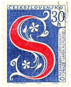 My favorite Tumblr blog at the moment: nothing but vintage postage stamps.