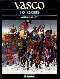 Couverture de Vasco -5- Les barons