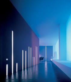 Prachtig gebruik van lineaire verlichting