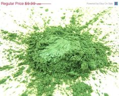 60% OFF EVERYTHING SALE Spring Green Eye Shadow - 2.5g Vegan Mineral Makeup Eye Shadow on Etsy, $4.00