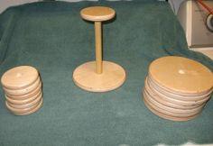 Wooden Hat Stand - Made by Alan Craft Fair Displays, Display Ideas, Display Stands, Booth Ideas, Baseball Hat Display, Crochet Craft Fair, Hat Hanger, Hangers, Diy Wig