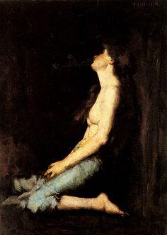 Jean Jacques Henner - Solitude