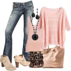 Untitled #270 by danyellefl01 on Polyvore featuring True Religion, Chloé, MANGO, Antik Batik and 1928