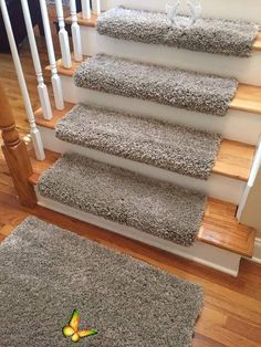 Ultimate Shag! Amore Oyster (+6 other colors!) Plush Shag True Bullnose™ Padded Carpet Stair Tread - Safety Comfort Dog Cat Pet (Sold Each) Ultimate Shag! Amore Oyster (and 6 other colors!) Plush Shag True Bullnose™ Carpet Stair Tread - For Safety Comfort Dog Cat Pet (Sold Each)<br>