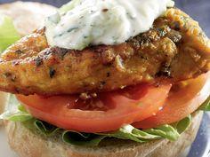 kerriehoender Hamburger Hotdogs, Hamburger Patties, Tzatziki, Bacon Jam, Ciabatta, Blue Cheese, Chutney, Tandoori Chicken, Ground Beef