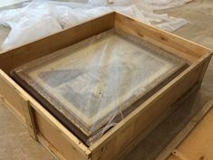 Упаковка картин в ящики