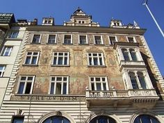 Wenceslas Square in Prague, #czechrepublic #beautifulplaces